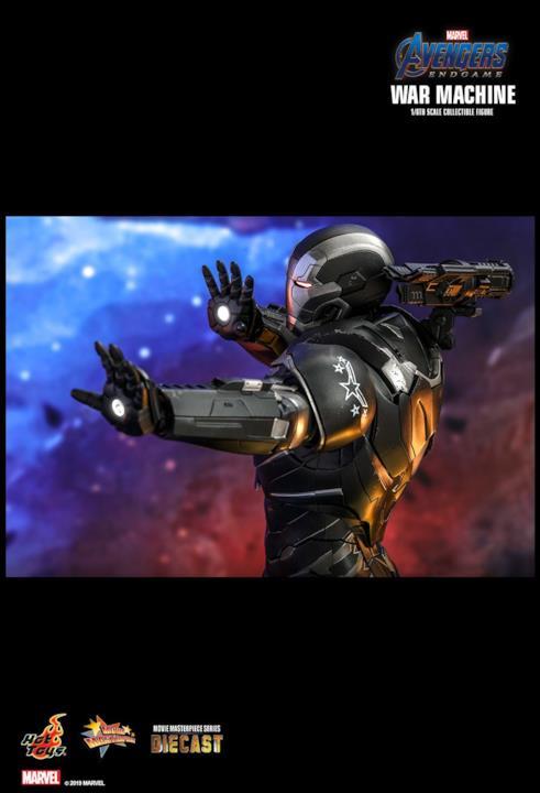 Hot Toys ricrea look di War Machine in Avengers: Endgame