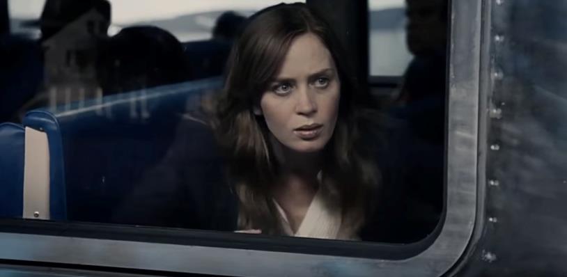 Una scena de La ragazza del treno con Emily Blunt