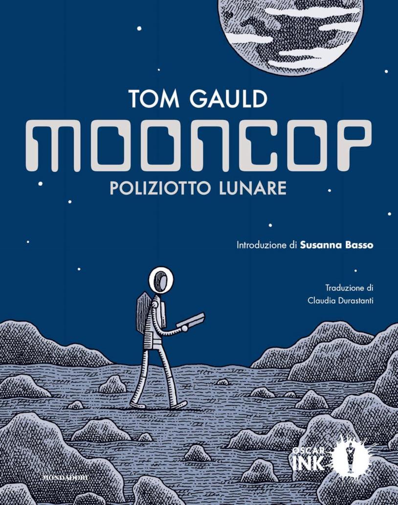 La copertina di Moon Coop poliziotto lunare
