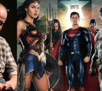 La Justice League e Joss Whedon, il regista a cui sono stati affidati i reshoot