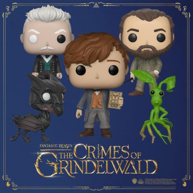 I Funko Popo di Animali Fantastici: I Crimini di Grindelwald