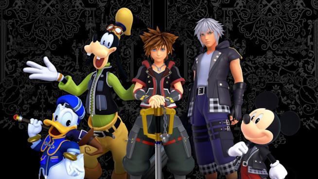 Kingdom Hearts Personaggi principali