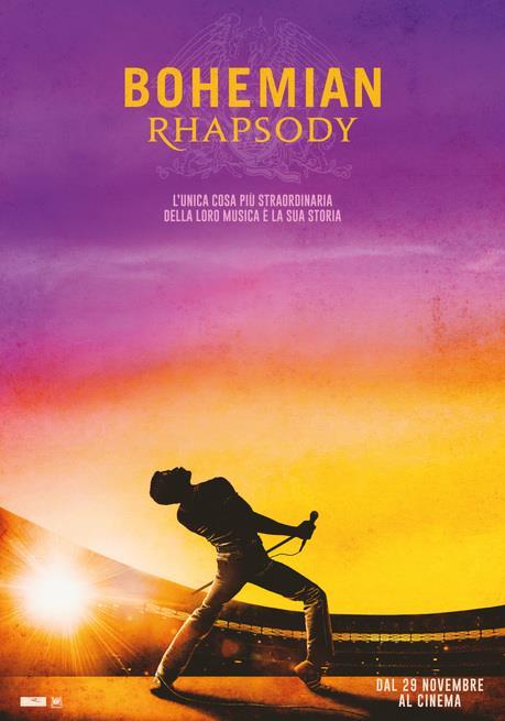 Poster italiano di Bohemian Rhapsody