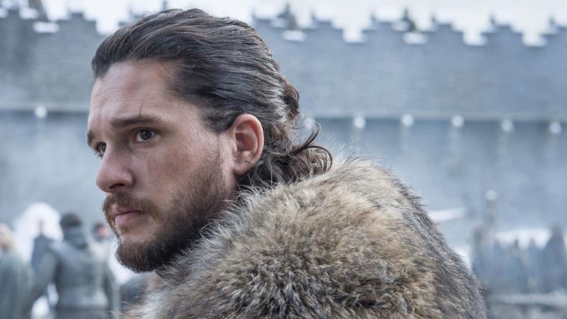 Jon Snow in Game of Thrones 8