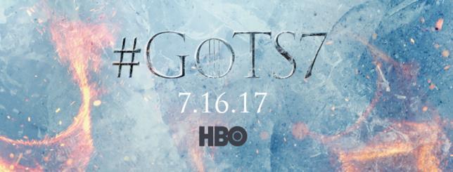 Poster di Game of Thrones 7 con data d'uscita