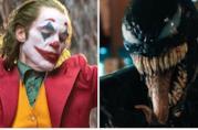 A sinistra Joker di Joaquin Phoenix e a destra Venom