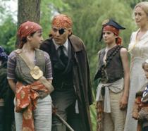 Johnny Depp, Kate Winslet e i piccoli attori protagonisti di Neverland - Un sogno per la vita