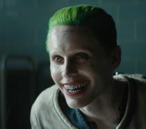 Primo piano di Joker in Suicide Squad
