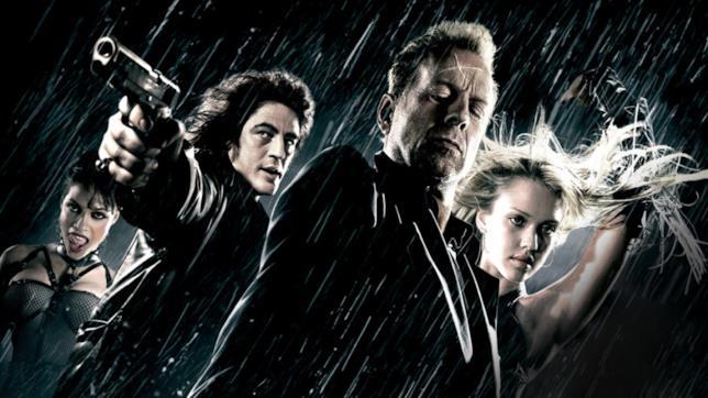 Un'immagine tratta dal film di Sin City