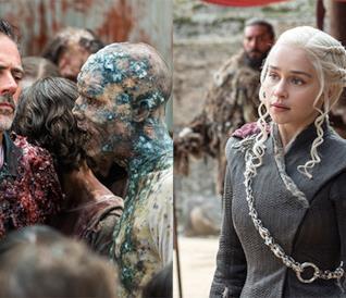 Daenerys e Negan