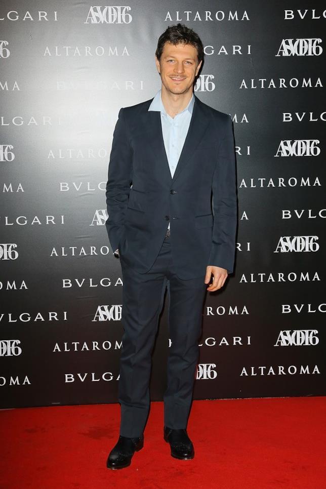 L'attore Andrea Bosca