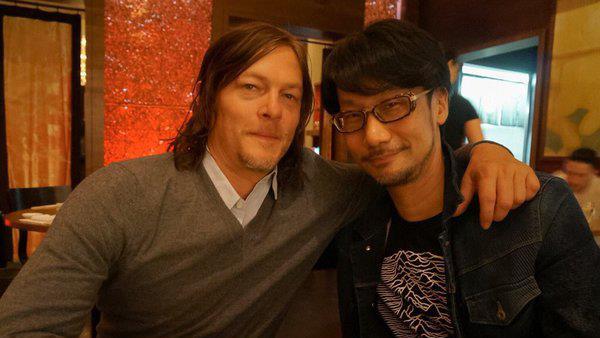 Norman Reedus e Hideo Kojima