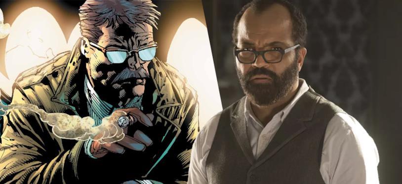 James Gordon nei fumetti DC (sinistra) e Jeffrey Wright (destra)