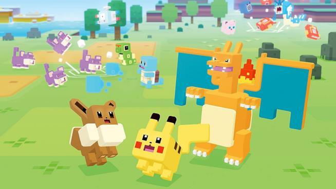 I Pokémon a cubetti di Pokémon Quest