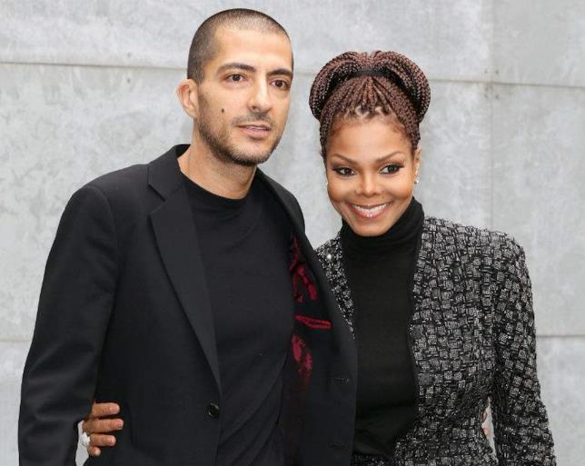 Wissam Al Mana con Janet Jackson