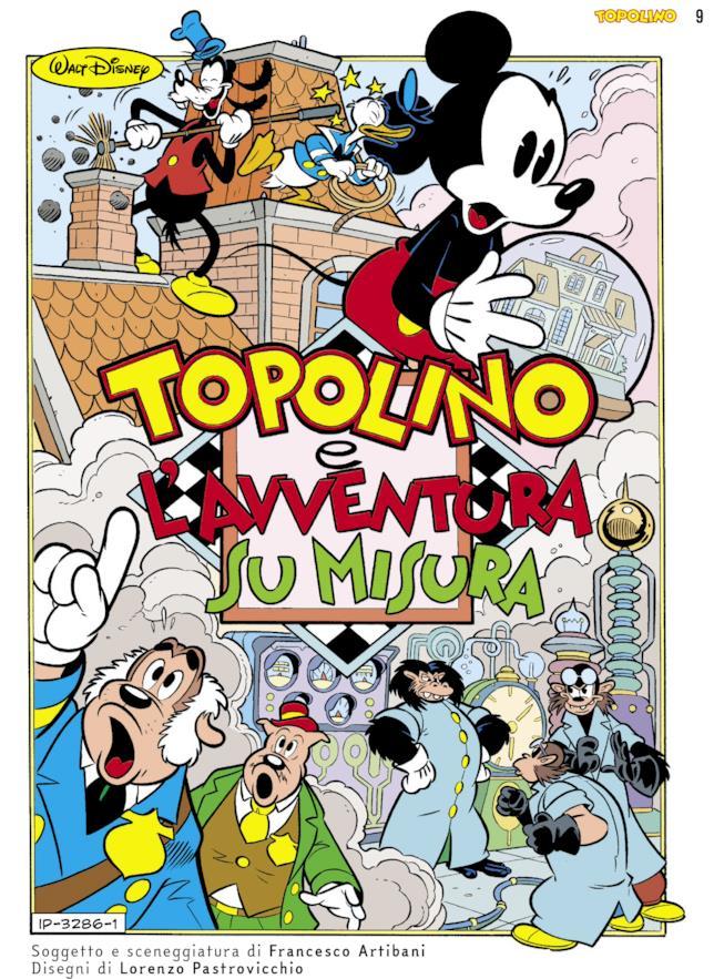 La storia Topolino e l'avventura su misura sul numero da collezione