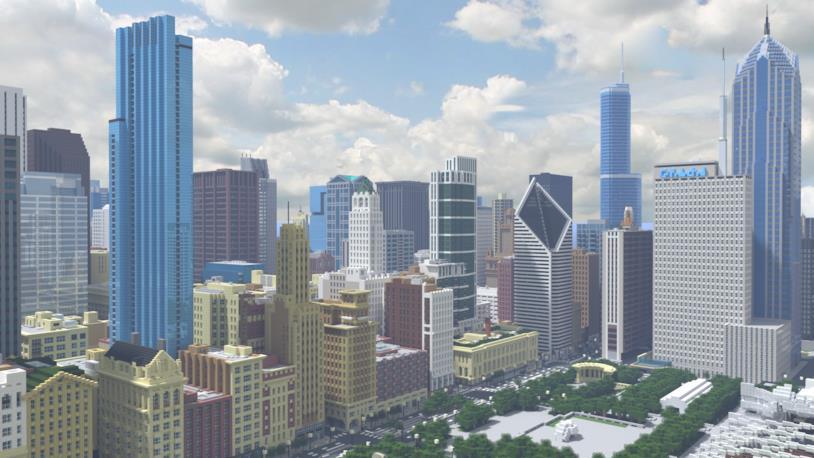 Minecraft: un utente ricrea Chicago