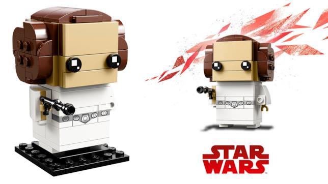 Dettagli del set LEGO BrickHeadz: la principessa Leila