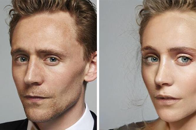 Da uomo a donna: la trasformazione di Tom Hiddleston