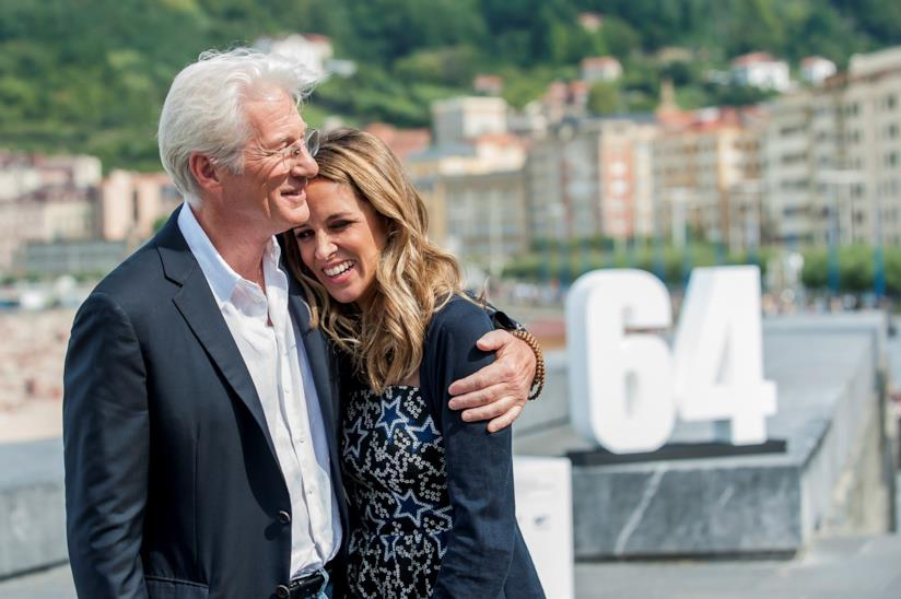 Richard Gere e la moglie Alejandra Silva