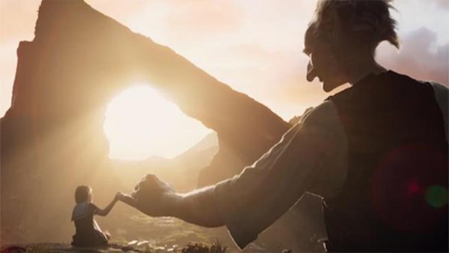 Un'immagine dal film Il Grande Gigante Gentile
