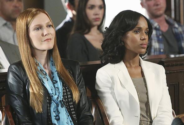 Abby e Olivia Scandal