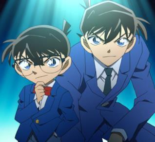Detective Conan il protagonista nelle sue due versioni