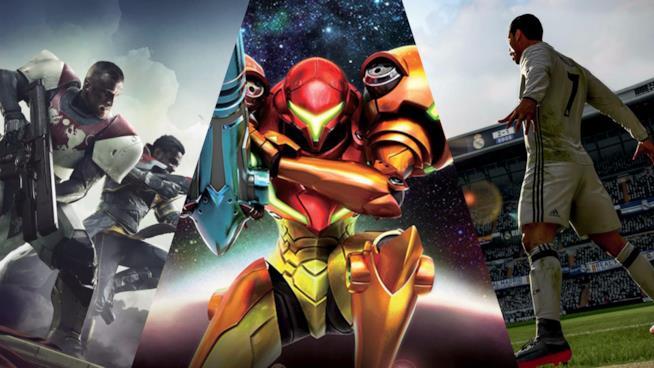 Gli eroi di alcuni dei videogame in uscita a settembre 2017