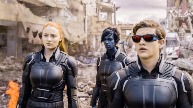 Jessica Chastain e Sophie Turner pizzicate sul set di X-Men: Dark Phoenix