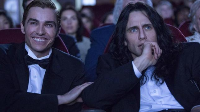 Dave e James Franco in una scena del film
