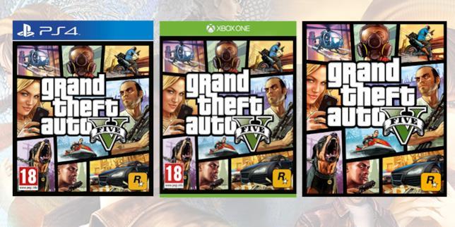 Le copertine di GTA V