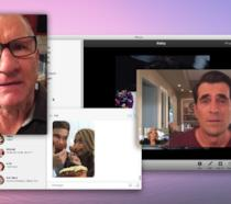 Una videoconferenza su macOS eseguita in una puntata di Modern Family