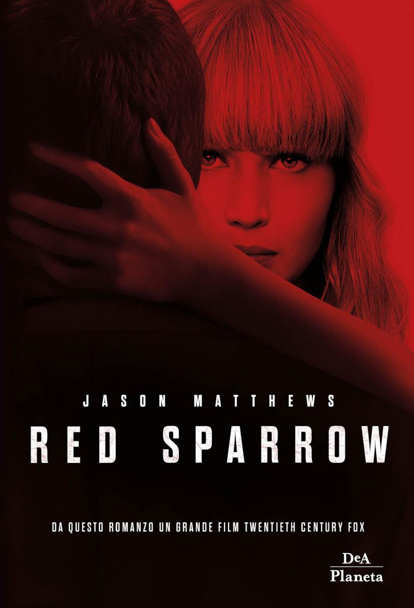 La copertina di Red Sparrow