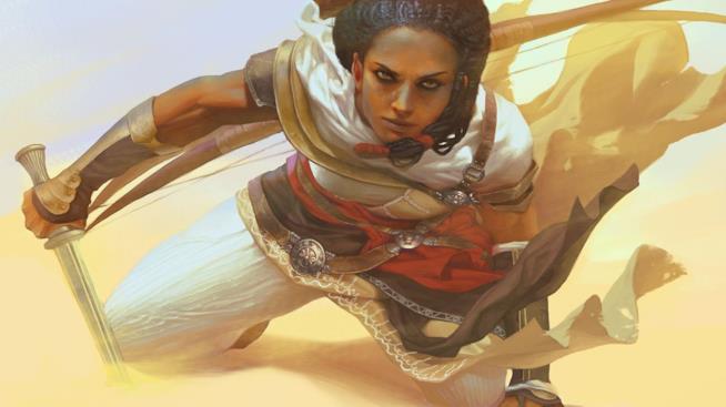 Aya in Assassin's Creed Origins