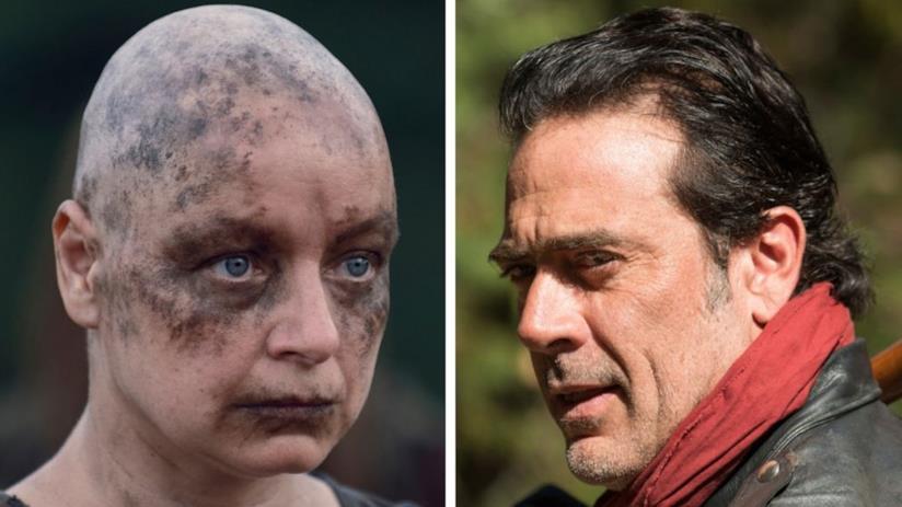Alpha e Negan di The Walking Dead