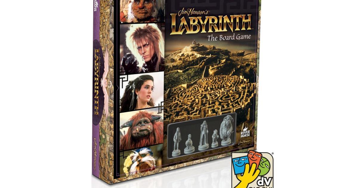 Labyrinth la recensione del gioco da tavolo presentato a lucca comics games 2016 - Partini gioco da tavolo ...