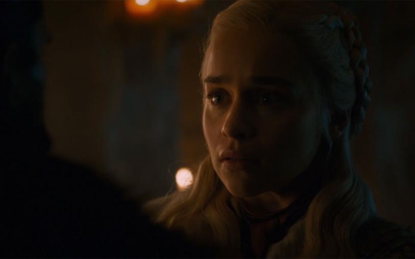 Daenerys scopre di non essere l'erede legittimo dell'Iron Throne