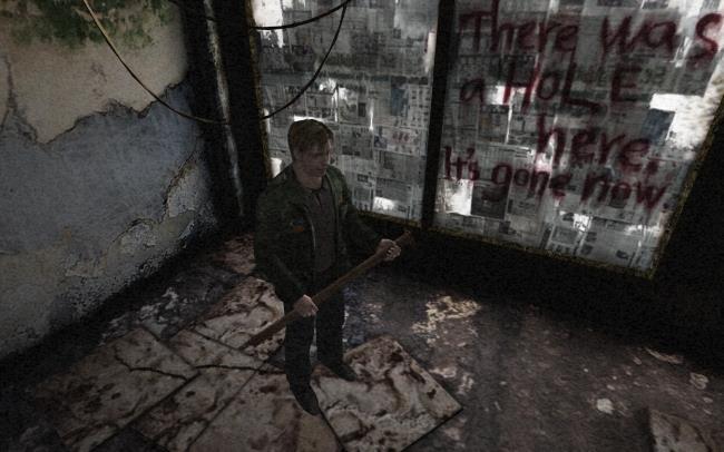 In foto James Sunderland da Silent Hill 2
