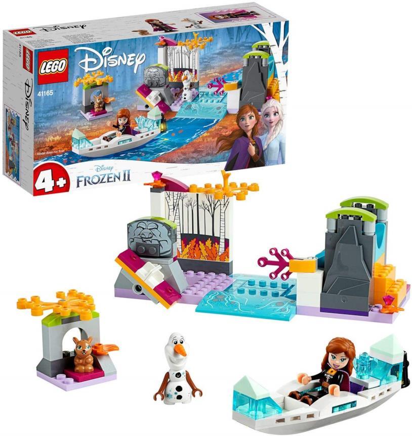 Spedizione sulla canoa di Anna - set LEGO di Frozen 2