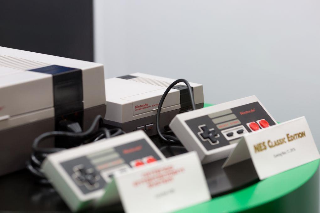 Prime immagini dal vivo del NES Classic Mini