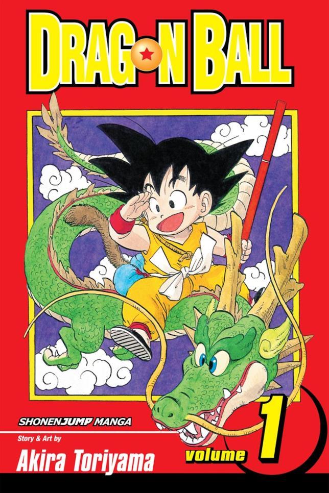 Il primo volume del manga Dragon Ball