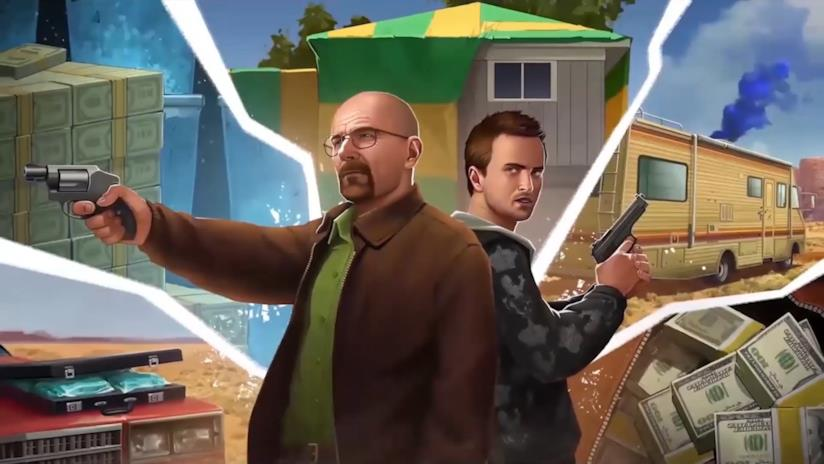 Walter White e Jesse Pinkman nel gioco Breaking Bad: Criminal Elements