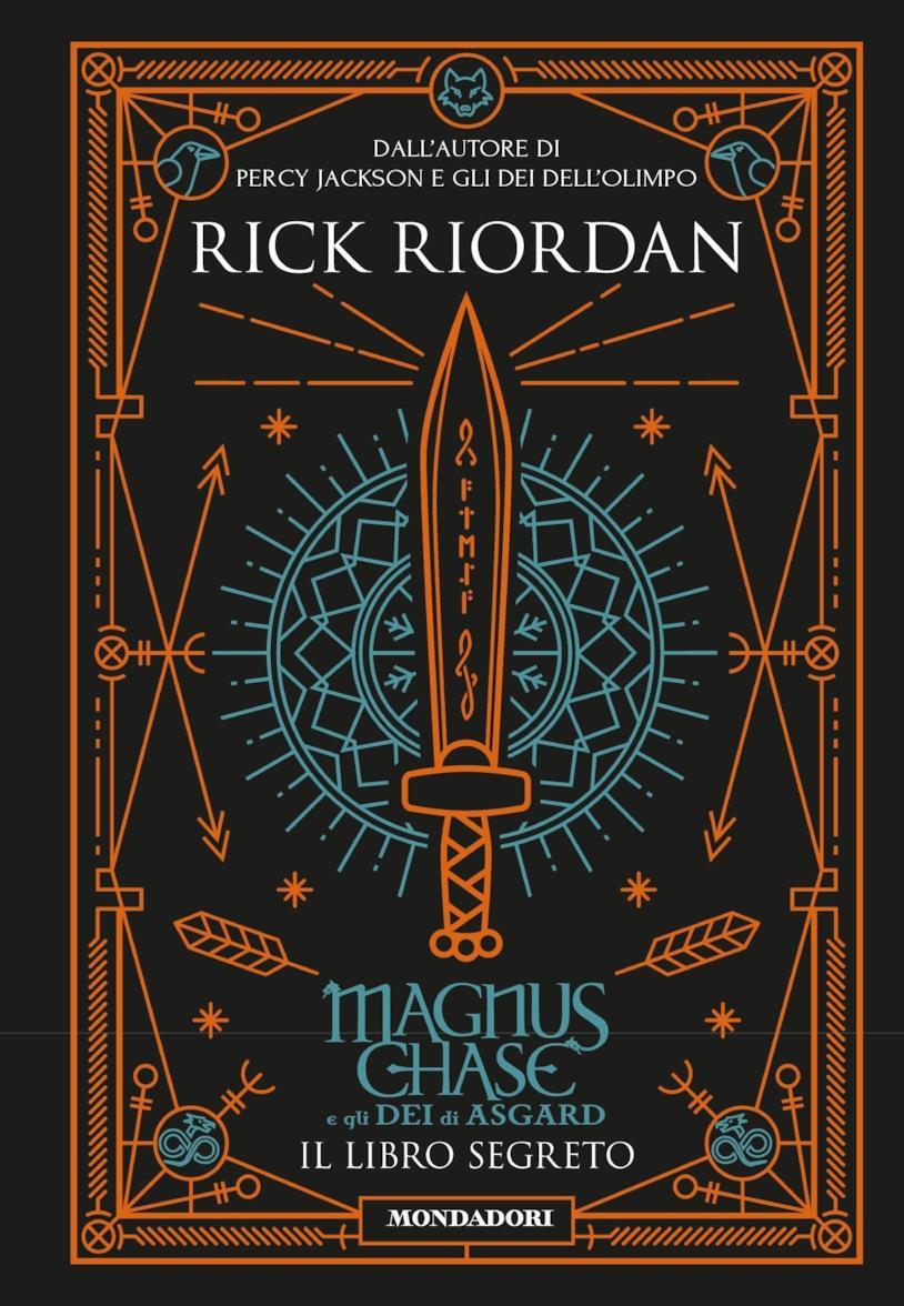La copertina di Magnus Chase e gli dei di Asgard. Il libro segreto