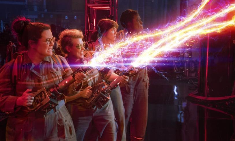 Ghostbusters, una scena del film di Paul Feig
