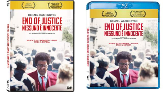End of Justice - Nessuno è innocente in Home Video
