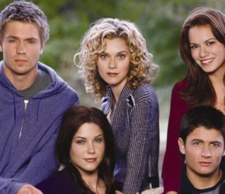 Il primo cast principale della serie One Tree Hill