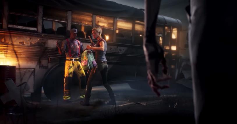 Un fotogramma dal video di annuncio di The Walking Dead: Saints & Sinners