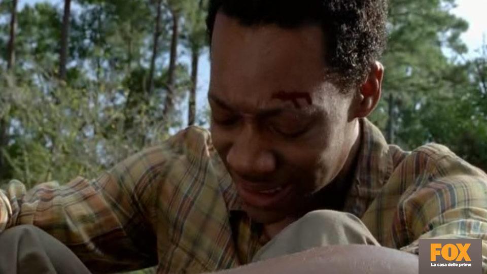 La ferita alla testa di Noah è un indizio che la scena iniziale è un flashforward (o il resto della puntata un flashback).