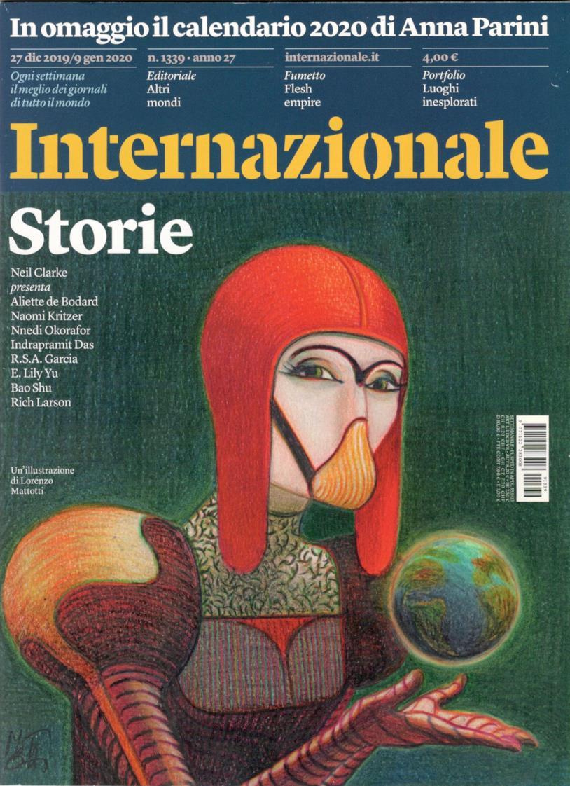 La copertina di Internazionale Storie 1339