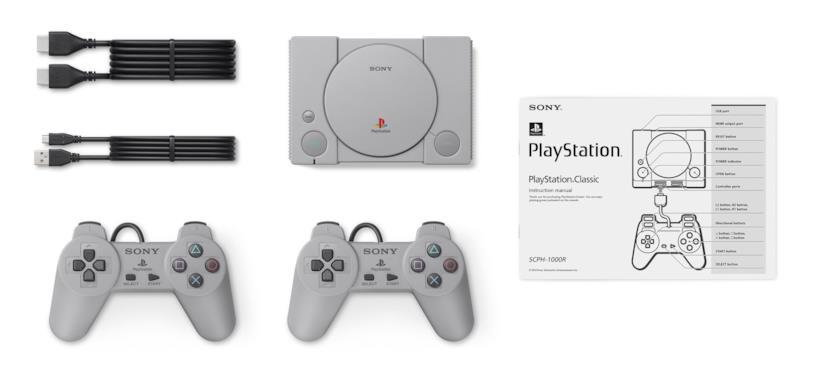 PlayStation Classic comprende 20 giochi precaricati in memoria